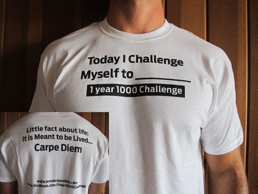 Today I Challenge Myself T-Shirt